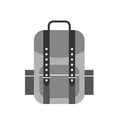 camping bag isolated icon vector image vector image