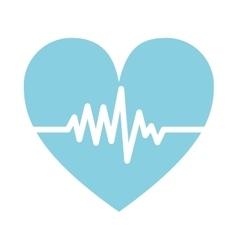 Cardio pulse heart vector