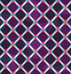 purple mosaic seamless pattern vector image vector image