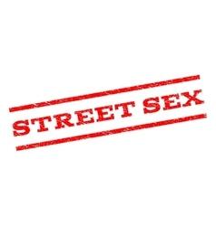 Street sex watermark stamp vector