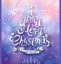 christmas purple bg vector image