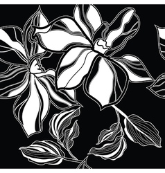 Seamless flower 07 vector