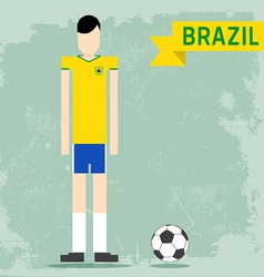 Brazil uniform vector