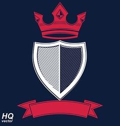 Empire design element heraldic royal coronet - imp vector