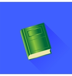 Green Book vector image