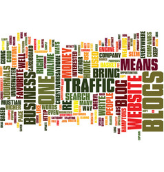 The blog text background word cloud concept vector