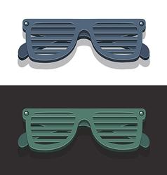 Vintagestareyeglasses vector