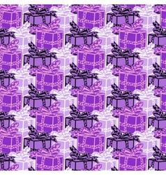 winter modern geometric seamless pattern ornament vector image
