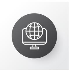World wide web icon symbol premium quality vector