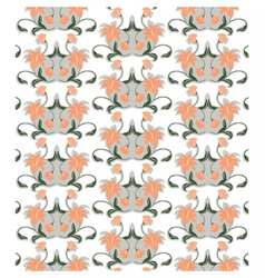 Abstract floral ornament pattern vector