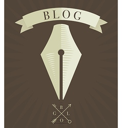 Blog icon 2 vector