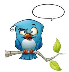 Blue Bird Smarty vector image