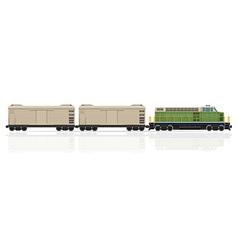 Railway train 30 vector