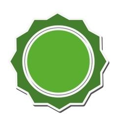 seal stamp label design vector image vector image