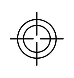 Sight target optical strategy design vector
