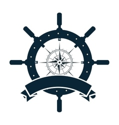 Timon wheel maritime icon vector