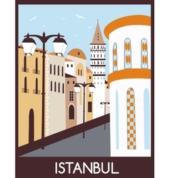 Istanbul street vector image vector image