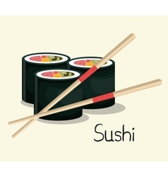 Food traditional japanese icon graphic isolated vector