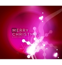 Holiday pink abstract background winter vector