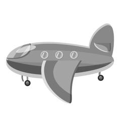 Airplane passenger plane icon vector