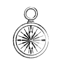 compass background concept vector image vector image