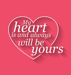 happy valentines card vector image vector image
