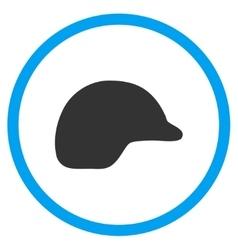 Motorcycle helmet icon vector