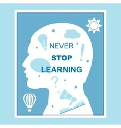 Never stop learning concept vector