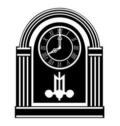 clock old retro vintage icon stock vector image