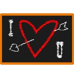 Classroom love vector