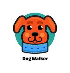 Dog walker logo dog logo logo veterinarian clinic vector