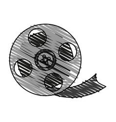Film icon image vector