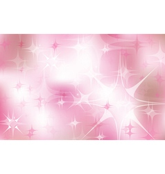 pink stars vector image
