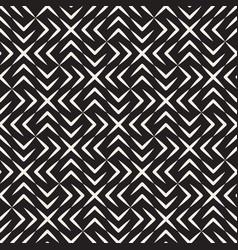 Seamless cross tiling pattern modern vector