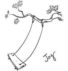 Tree with a swing vector