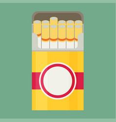 Cigarette flat vector