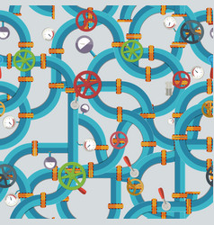 industrial technologic seamless pattern vector image