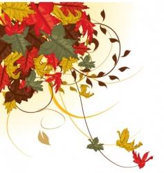 autumn weather vector image