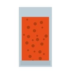 Juice fruit bottle isolated icon design vector