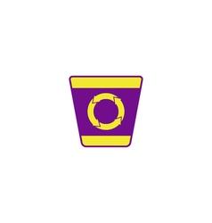 Bin recycle Icon vector image vector image