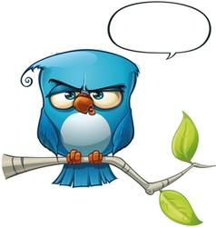 Blue bird strict vector