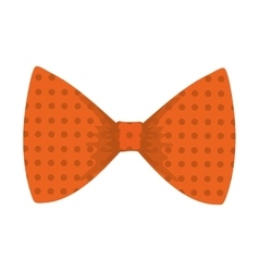 Bowtie icon Suit male part design graphic vector image