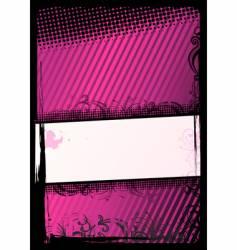 illustration of grunge wallpaper vector image vector image