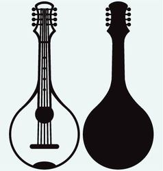 Traditional ukrainian kobza vector