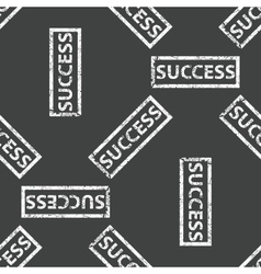 Rubber stamp success pattern vector