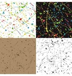 Blots background vector