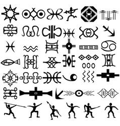 ethnic elements vector image