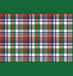 Check pixel color plaid seamless pattern vector
