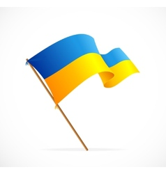 Liiustration ukraine flag vector