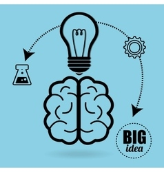 Big ideas graphic vector